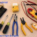 electrician regim urgenta