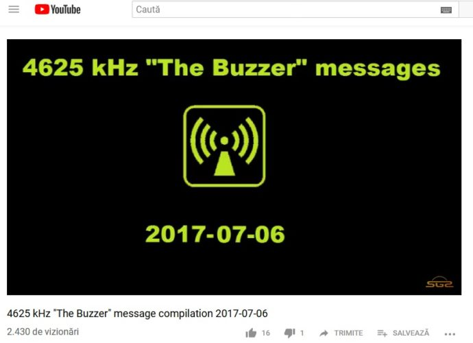 post de radio The Buzzer