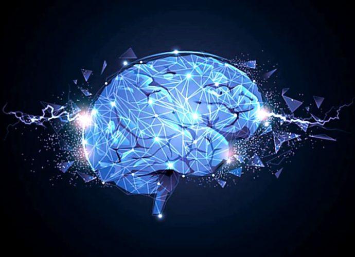 Activitatle electrice ale creierului uman.