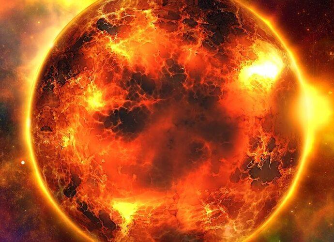 Soarele are o structura complexa.